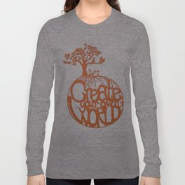 Create Your Own World Long Sleeve T-shirt