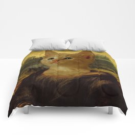 Mona Lisa Kitten Comforters