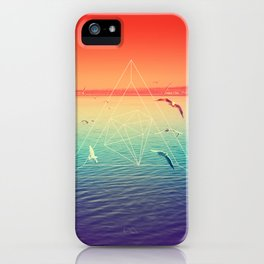 Lapse In Perception iPhone Case
