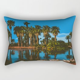 Papago Park Palms Rectangular Pillow