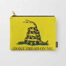 Don't Tread On Me Gadsden Flag Carry-All Pouch