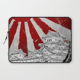 Japanese Palace and Sun Laptop Sleeve