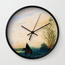 Prilidiano Pueyrredon - La Lavandera - Digital Remastered Edition Wall Clock