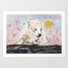 Polar Bear (day excursion) Art Print