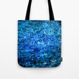 Water Color - Dark Blue - Navy Tote Bag