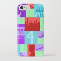 divergent iPhone & iPod Cases featuring Divergent Collage by Anthony M. Sennett