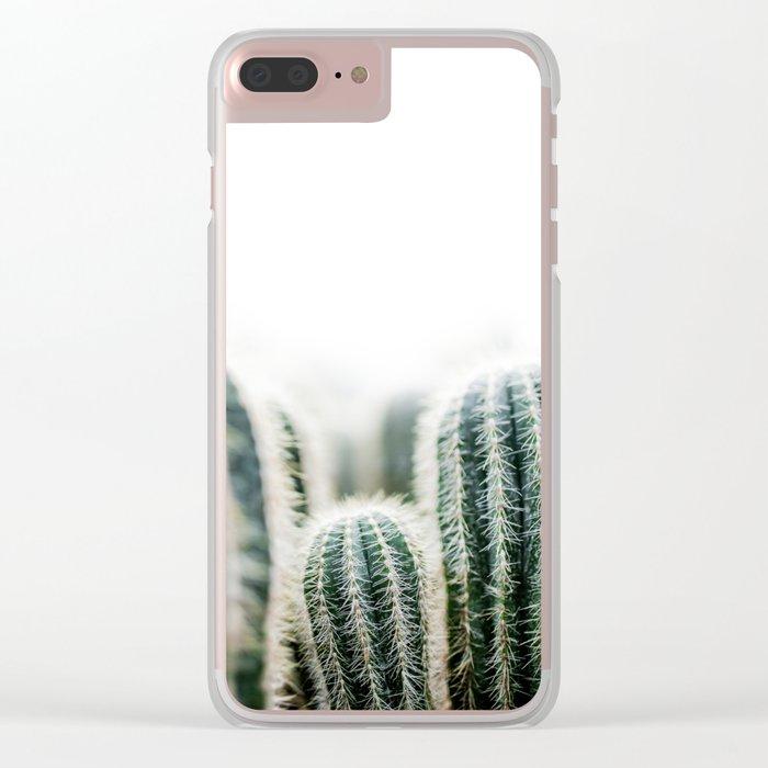 Cactus 1 Clear iPhone Case