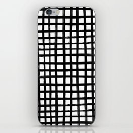 Hand-painted Grid iPhone Skin