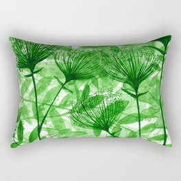 Green april Rectangular Pillow