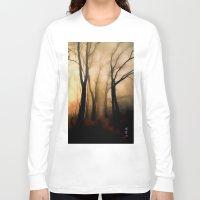 fog Long Sleeve T-shirts featuring Fog by Nev3r