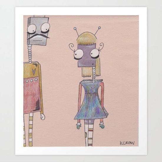 bot love. Art Print