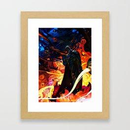Falcon of Darkness Framed Art Print