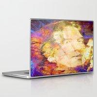 oscar wilde Laptop & iPad Skins featuring Oscar Wilde by Ganech joe