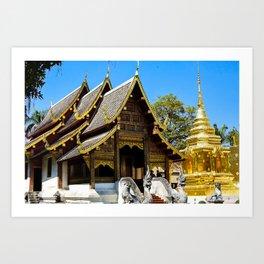 Wat Phra That Doi Suthep Art Print