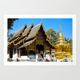 Wat Phra That Doi Suthep Art Print
