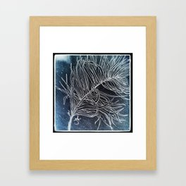 Palm Leaf Earth Day and Easter Framed Art Print