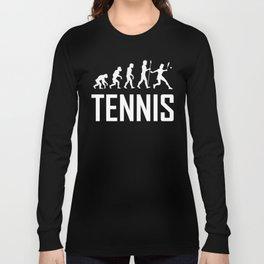 Tennis Evolution Long Sleeve T-shirt