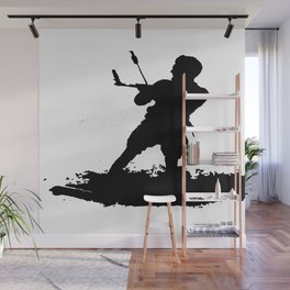 Board Out Of Your Mind Wakeboarding Silhouette Wall Mural