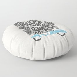 Florence Cityscape Floor Pillow