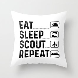 Scout Gift Scout Throw Pillow