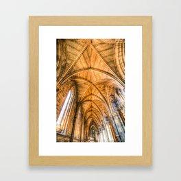 Southwark  Cathedral London Framed Art Print