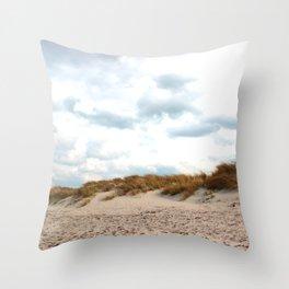 On the beach of California Part I. Throw Pillow