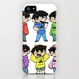 Mr Osomatsu iPhone Case