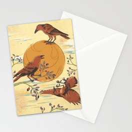 JINWU (three-legged crows) Stationery Cards