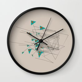 squiggles 1 Wall Clock