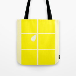 Rectangle lemon Tote Bag