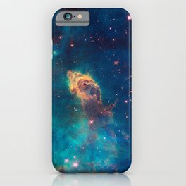 Space Nebula, A View of Astronomy, Stars, Galaxy, and Outer space  iPhone Case
