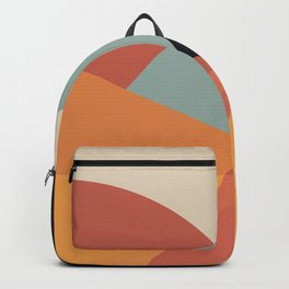 Bright Abstract Backpack