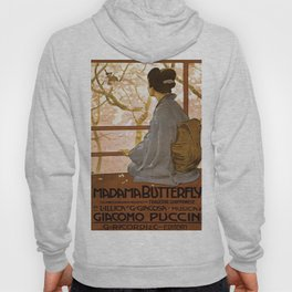 Vintage poster - Madama Butterfly Hoody