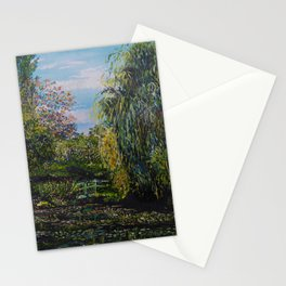 Monet's Garden Stationery Cards