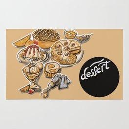 desserts menu Rug