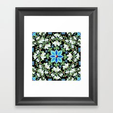 Beaux Arts Folkloric Lily Framed Art Print