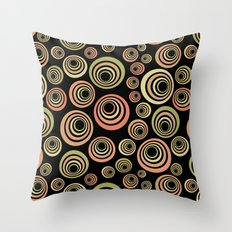 Groovy 60's Throw Pillow
