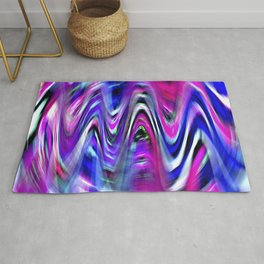Colorful Imagination Curves Rug
