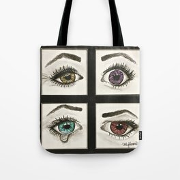 Eyes Show Emotions Tote Bag