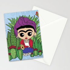Frida in the Cacti 1 Stationery Cards