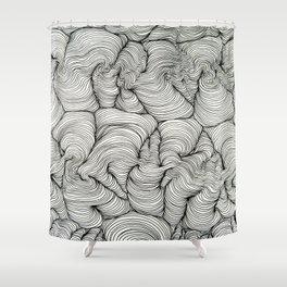 Soul Wave Exhibit 1 Shower Curtain