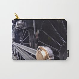 Locomotive drive wheel Carry-All Pouch