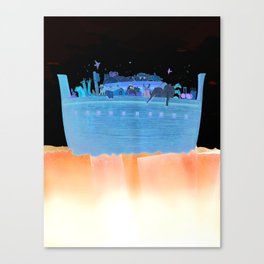 Noah's Ark (First Ship) Canvas Print