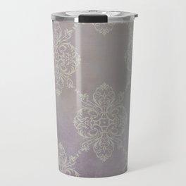 Vintage Damask - Violet Travel Mug
