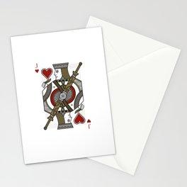 Omnia Illumina Jack of Hearts Stationery Cards