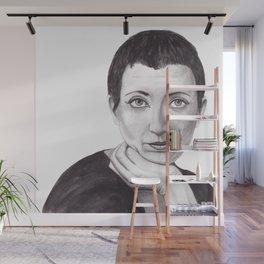 Helene Cixous Wall Mural