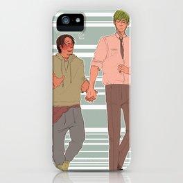 midorima x takao- KNB iPhone Case