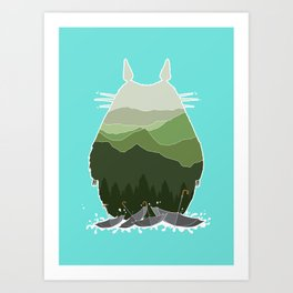 No more rainy days Art Print