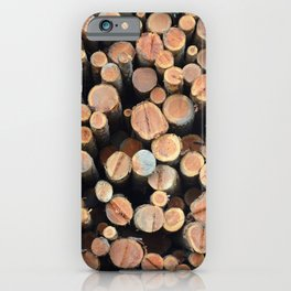 Lots of logs iPhone Case
