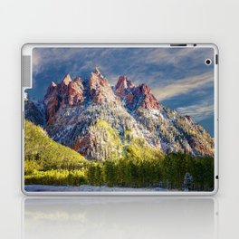 First Snow Maroon Bells Laptop & iPad Skin